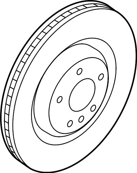 2016 audi q5 brake disc  disc brake rotor  a single disc