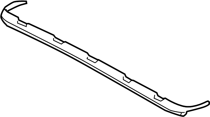audi a4 air deflector  included with  frame assembly