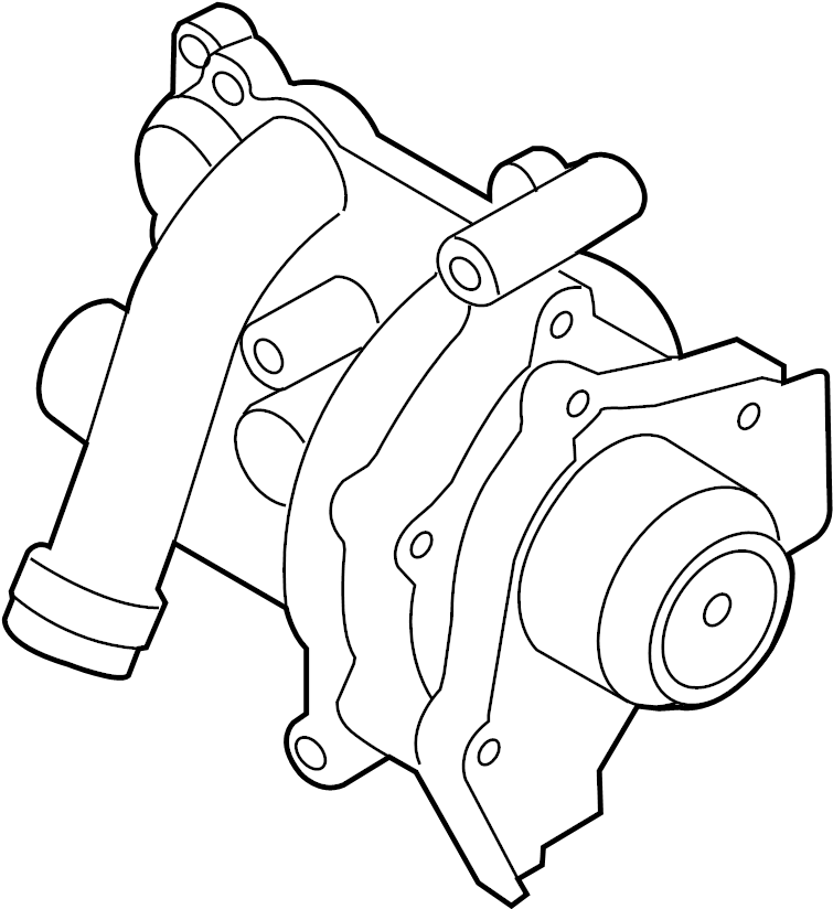 06j121026g - engine water pump assembly  cooling  liter  main