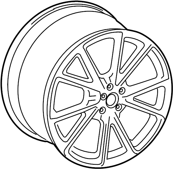 8k0601025ct - wheel  alloy  19  10 spoke