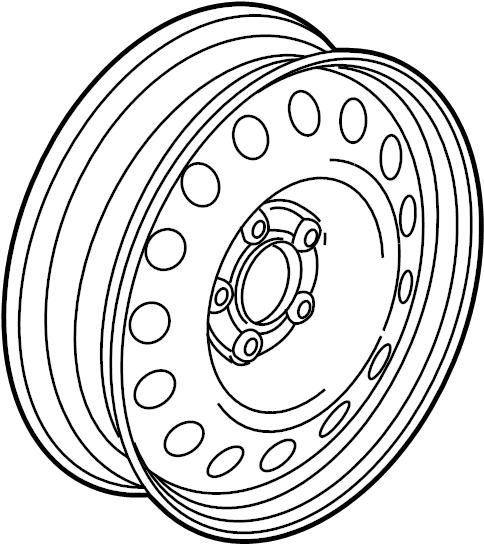 audi a4 spare wheel  wheel disc  wheels  trim  covers