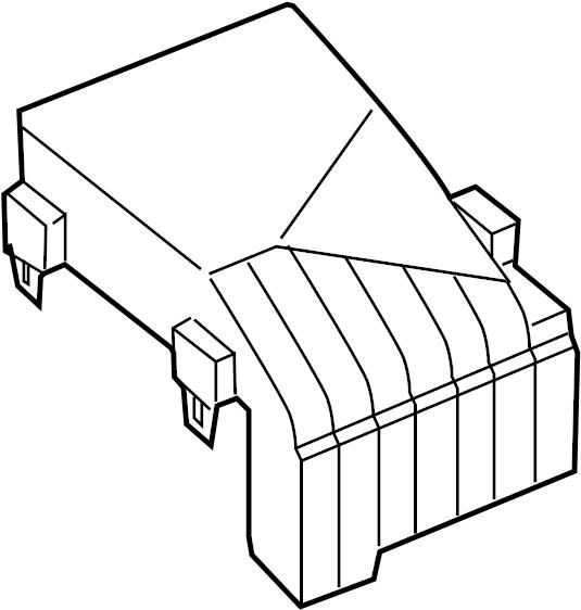 Audi Q3 Fuse Box Cover  Engine  Compartment  Wagon