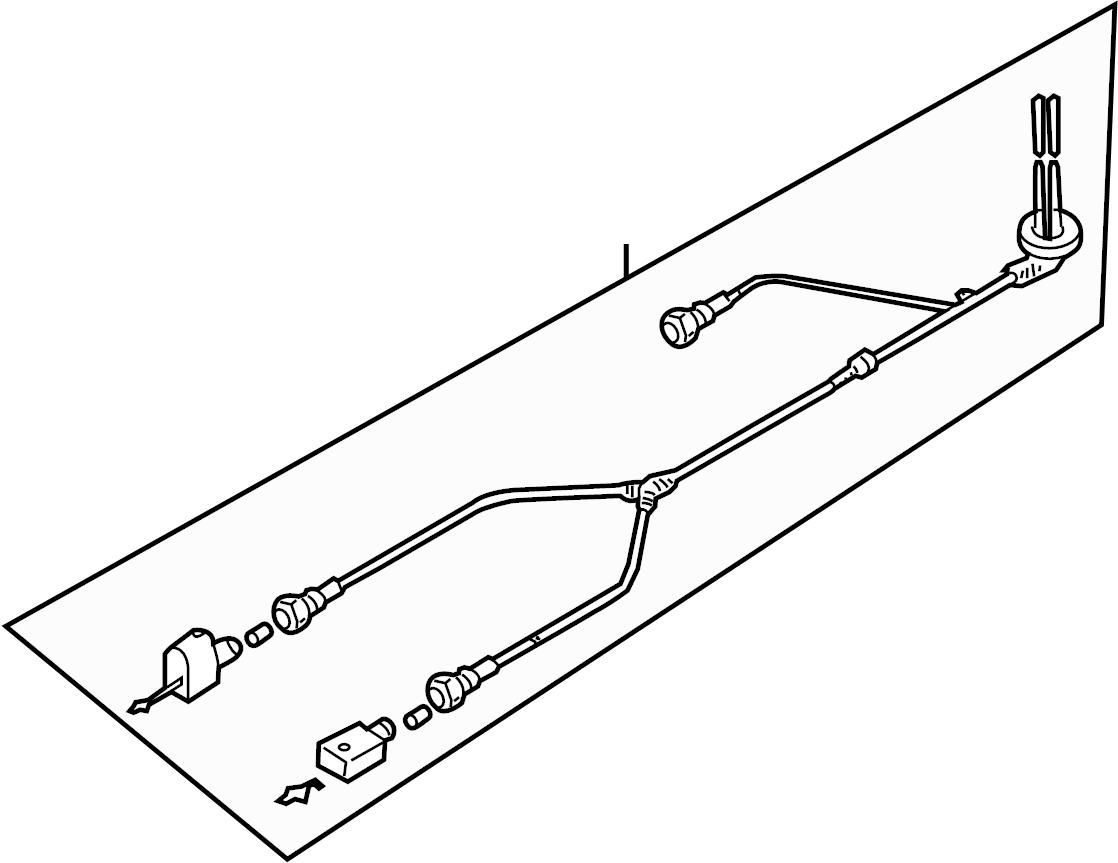 1K0927903B - Harness. Audi; volkswagen - Genuine Audi Part