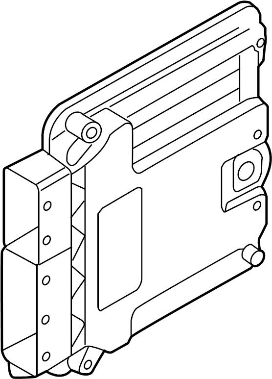 5g0906259l - contour  unit  ecm  convertible  2 0 liter  engine code cntc